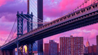 Beautiful, Bridge, Colorful, Eiffel, Natural, Sky, Tower