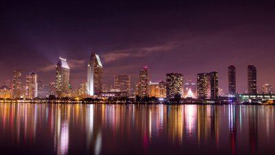Best, City, Night, Qatar, View, Wallpaper