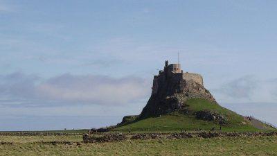 Castle, Desktop, Lindisfarne, Natural, Wallpaper, Widescreen
